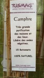 BATONNETS CAMPHRE