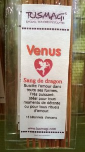 BATONNETS VENUS / SANG DE DRAGON